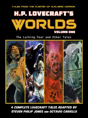 cover image of H.P. Lovecraft's Worlds, Volume 1