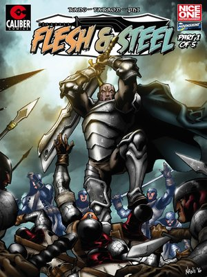 cover image of Flesh and Steel, Issue 1