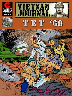 cover image of Vietnam Journal: Tet '68, Issue 6