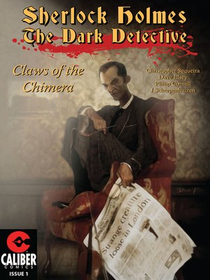 cover image of Sherlock Holmes: Dark Detective, Issue 1