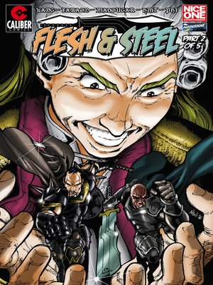 cover image of Flesh and Steel, Issue 2