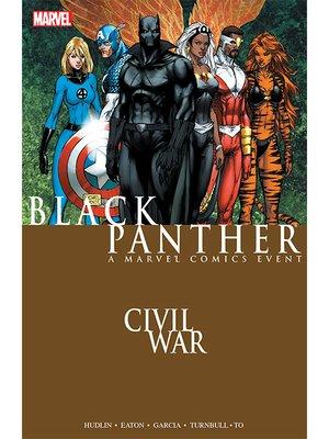 cover image of Civil War: Black Panther