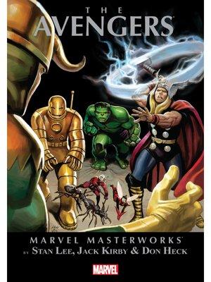 cover image of Marvel Masterworks: The Avengers (2003), Volume 1