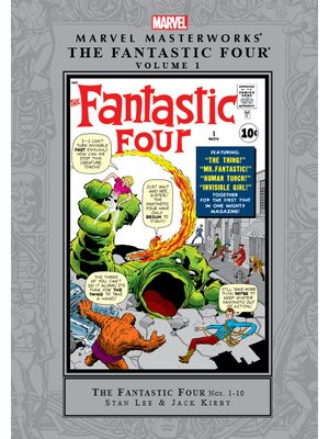 cover image of Marvel Masterworks: The Fantastic Four (2003), Volume 1