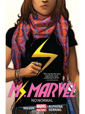 cover image of Ms. Marvel (2014), Volume 1