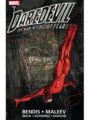 cover image of Daredevil by Bendis and Maleev Ultimate Collection, Volume 1