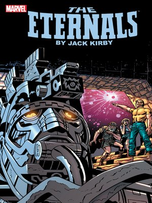 cover image of Eternals by Jack Kirby, Book 1