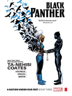 cover image of Black Panther (2016), Volume 3