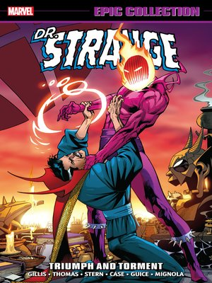 cover image of Doctor Strange Epic Collection: Triumph and Torment
