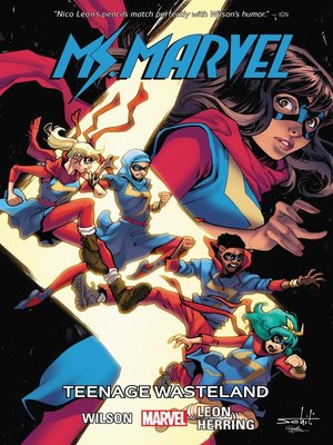 cover image of Ms. Marvel (2014), Volume 9
