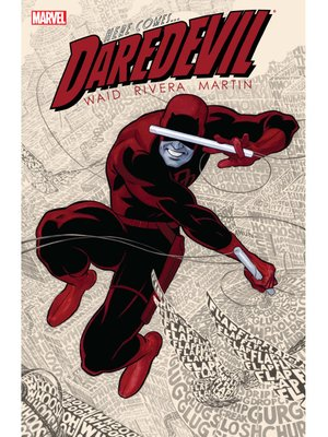 cover image of Daredevil by Mark Waid (2011), Volume 1
