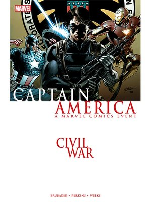 cover image of Civil War: Captain America