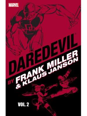 cover image of Daredevil by Frank Miller & Klaus Janson, Volume 2
