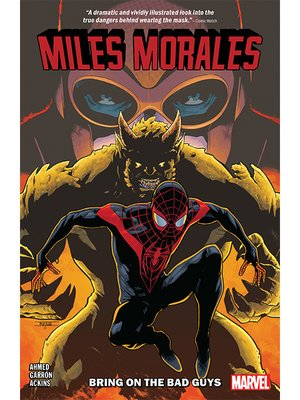 cover image of Miles Morales: Spider-Man (2018), Volume 2