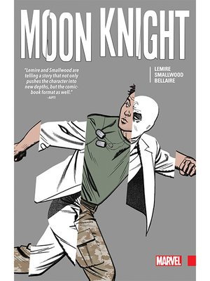 cover image of Moon Knight by Lemire & Smallwood