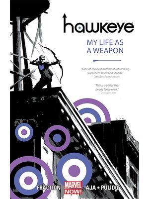 cover image of Hawkeye (2012), Volume 1