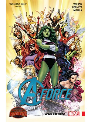 cover image of A-Force (2015), Volume 1