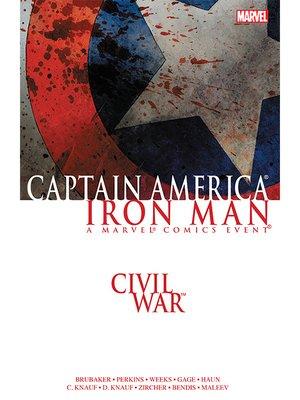cover image of Civil War: Captain America/Iron Man
