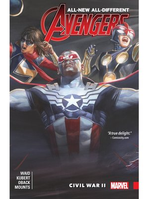 cover image of All-New, All-Different Avengers (2015), Volume 3