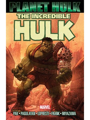 cover image of Planet Hulk