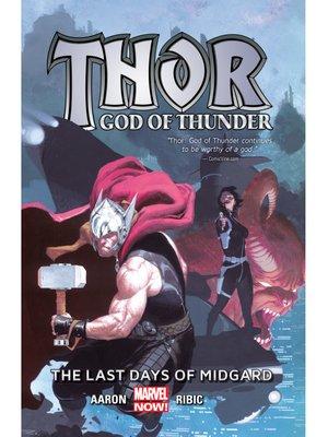 cover image of Thor: God of Thunder (2013), Volume 4