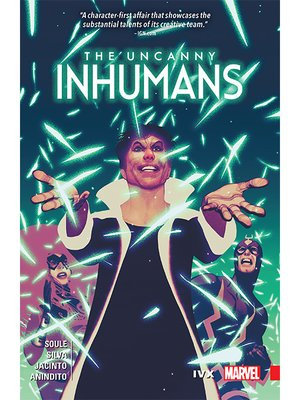 cover image of The Uncanny Inhumans (2015), Volume 4