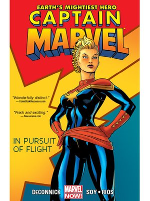 cover image of Captain Marvel (2012), Volume 1
