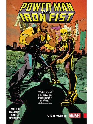 cover image of Power Man and Iron Fist (2016), Volume 2