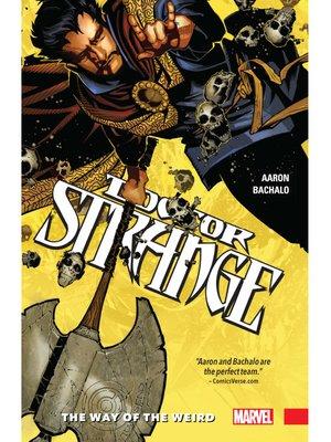 cover image of Doctor Strange (2016), Volume 1