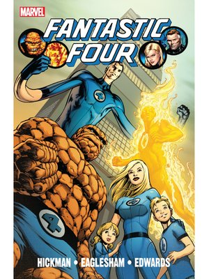 cover image of Fantastic Four By Jonathan Hickman, Volume 1