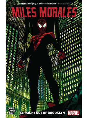 cover image of Miles Morales: Spider-Man (2018), Volume 1