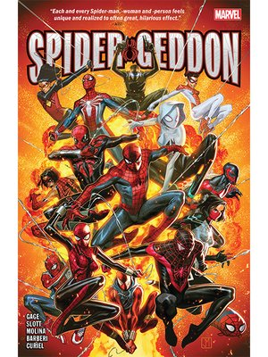 cover image of Spider-geddon