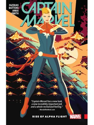 cover image of Captain Marvel (2016), Volume 1