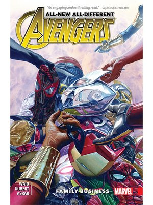 cover image of All-New, All-Different Avengers (2015), Volume 2