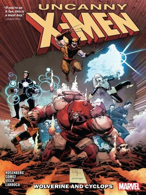 cover image of Uncanny X-Men: Wolverine and Cyclops (2019), Volume 2
