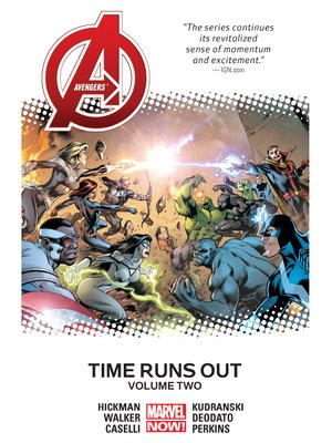 cover image of Avengers (2012): Time Runs Out, Volume 2