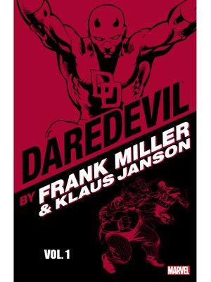 cover image of Daredevil by Frank Miller & Klaus Janson, Volume 1