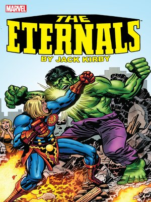 cover image of Eternals by Jack Kirby, Book 2