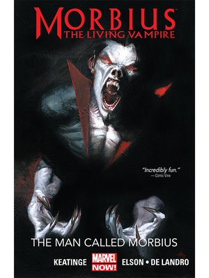cover image of Morbius: The Living Vampire