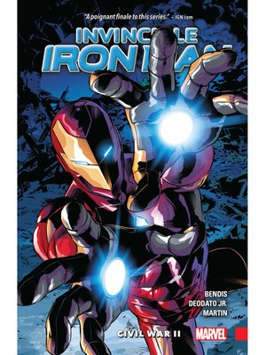 cover image of The Invincible Iron Man (2016), Volume 3