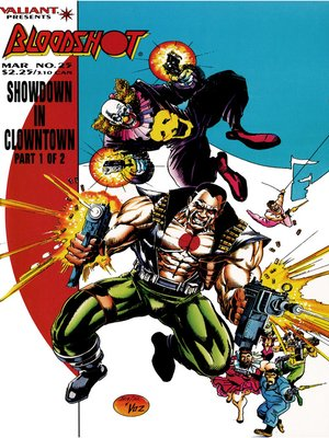 cover image of Bloodshot (1993), Issue 25