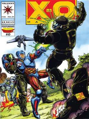 cover image of X-O Manowar (1992), Issue 25