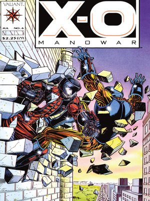 cover image of X-O Manowar (1992), Issue 6