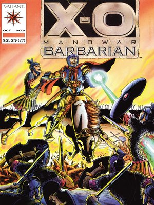 cover image of X-O Manowar (1992), Issue 9