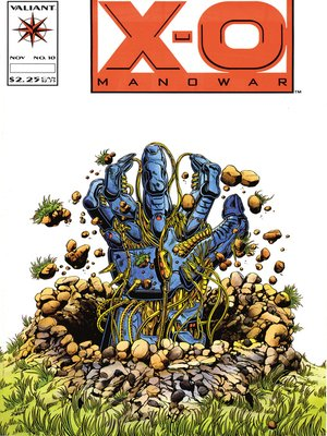 cover image of X-O Manowar (1992), Issue 10