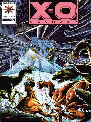 cover image of X-O Manowar (1992), Issue 15