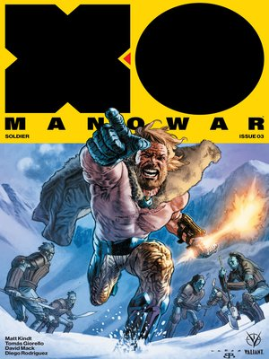cover image of X-O Manowar (2017), Issue 3