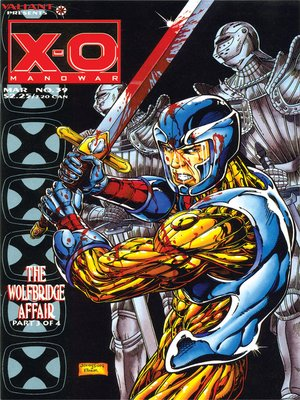 cover image of X-O Manowar (1992), Issue 39