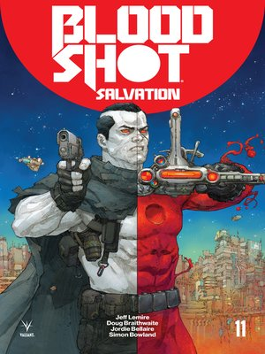 cover image of Bloodshot: Salvation (2017), Issue 11