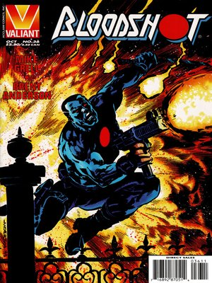 cover image of Bloodshot (1993), Issue 36